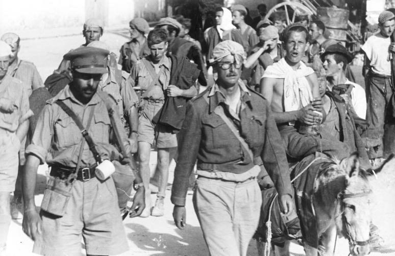 Британские войска уходят с Крита. Май 1941 г.