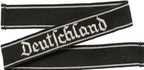 Манжетная лента 1-го штандарта СС «Deutschland».