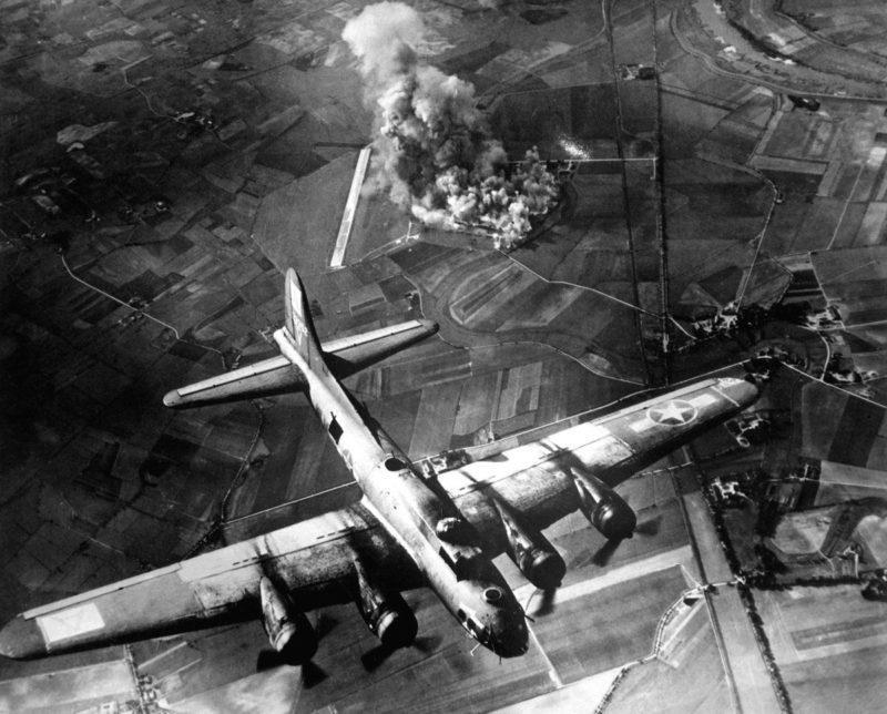 Бомбардировка Рима союзниками. Июнь 1943 г.