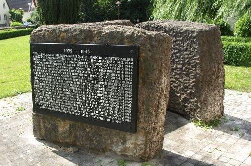 Коммуна Карлсдорф-Нойтард. Памятник жертвам Второй мировой войны.