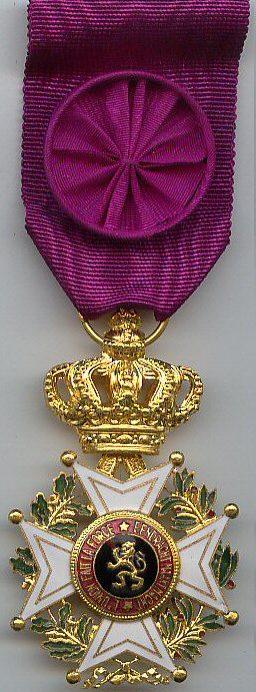 Знак Офицера Ордена Леопольда I.