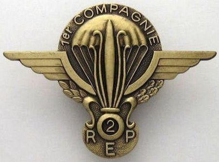 Знаки 1-й роты 2-го парашютного полка.