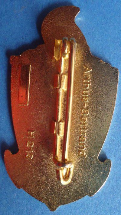 Аверс и реверс знака 6-го инженерного полка.