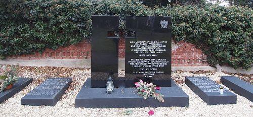 г. Людвигсбург. Памятник полякам, погибшим во время Второй мировой войны.