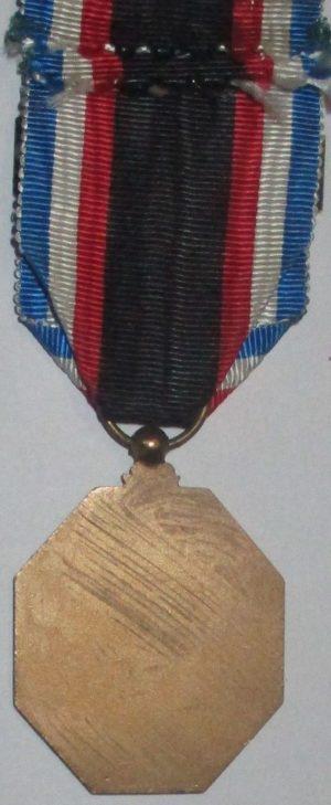 Аверс и реверс медали движение сопротивления d'Albian.