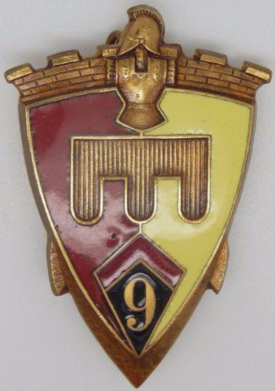 Знаки 9-го инженерного полка.