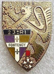 Знаки 23-го пехотного полка.