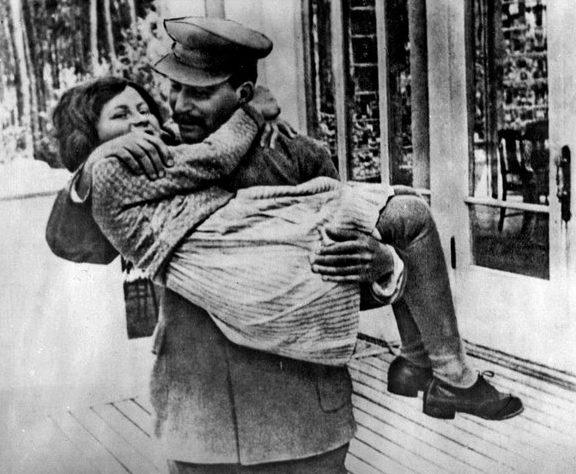 Сталин со своей «принцессой».
