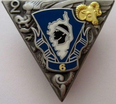 Знак 6-й роты 2-го парашютного полка.