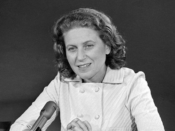 Светлана Аллилуева после побега из СССР.
