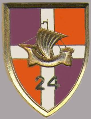 Знаки 24-го пехотного полка.