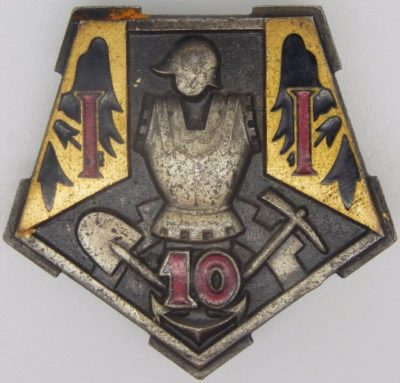 Знаки 10-го инженерного полка.