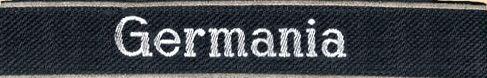 Манжетная лента 9-го танкового гренадерского полка СС «Deutschland».
