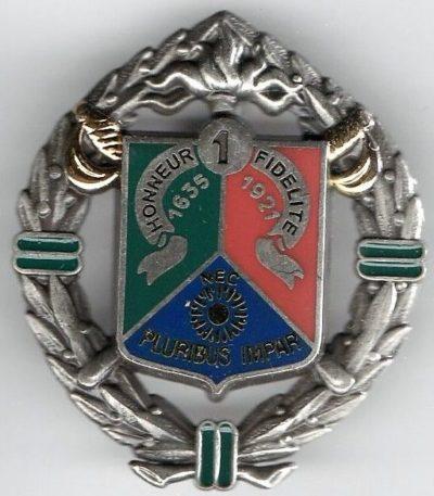 Знак 1-го иностранного полка кавалерии.