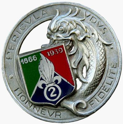 Знак 2-го иностранного полка кавалерии.