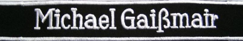 Манжетная лента 12-го горнострелкового полка СС «Michael GaiЯmair».