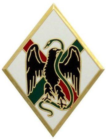 Знаки 1-го иностранного полка.