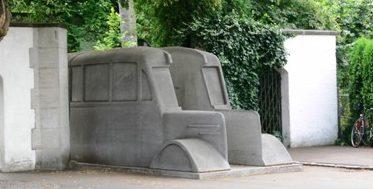 Мемориал седых автобусов.