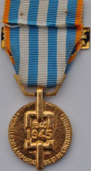 Аверс и реверс медали политических депортированных.