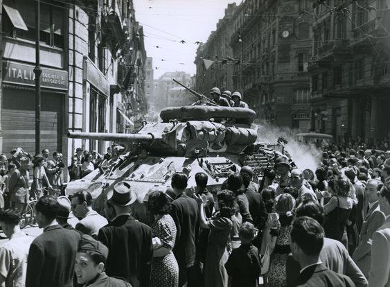 Освобождение Рима. Июнь 1944 г.