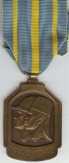 Знак Африканской медали 1940-1945.