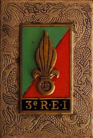 Знаки 3-го иностранного полка.