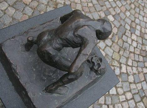 г. Файинген-ан-дер-Энц. Памятник на месте концлагеря Вайхинген, в котором погибло 1 700 человек.