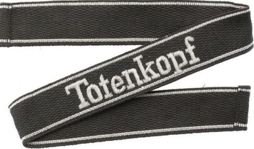 Манжетные ленты 3-й танковой дивизии СС «Totenkopf».