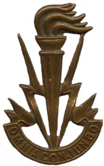 Знаки службы связи Королевских ВС Бельгии.