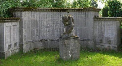 г. Фрайбург-им-Брайсгау. Памятник сотрудникам компании «Brenziner», погибшим во время Второй мировой войны.
