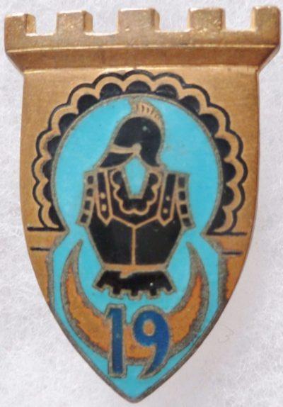 Знаки 19-го инженерного полка.