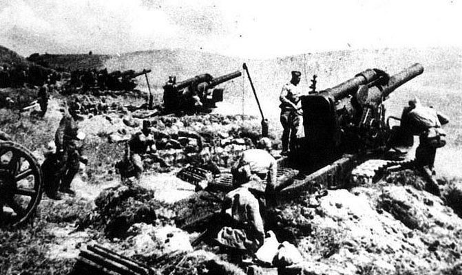 Штурм Сапун-горы. Апрель 1942 г.