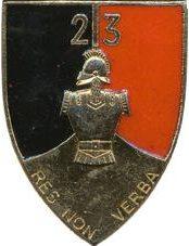 Знак 23-го инженерного полка.