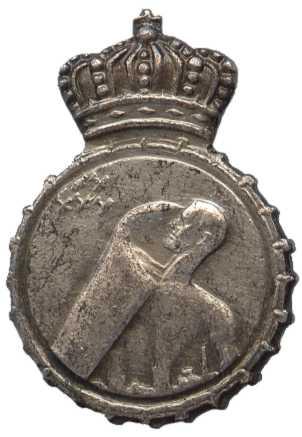 Знак наблюдателей ПВО Королевских ВС Бельгии.