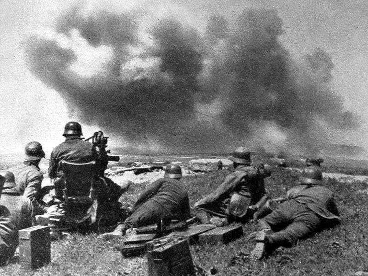 Мекензиевы горы. Июнь 1942 г.