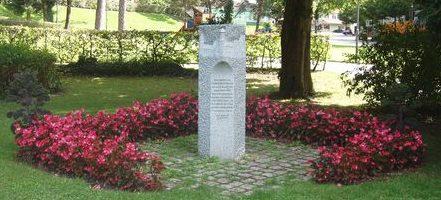 г. Штокхах. Мемориал землякам - жертвам бомбардировки 21-24 апреля 1945 года.