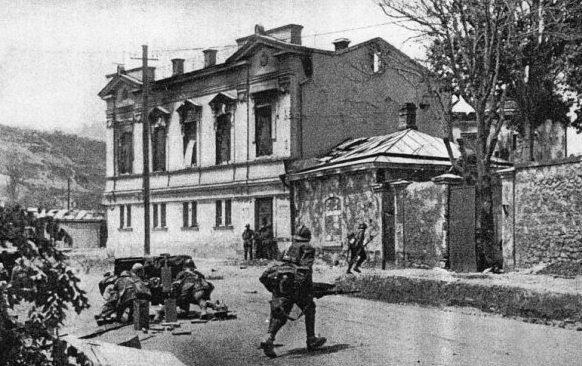 Городские бои. Июль 1942 г.