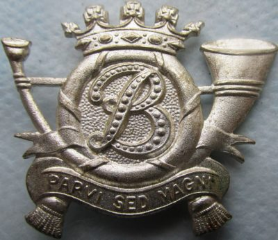 Знак 1-го гренадёрского батальона карабинеров.