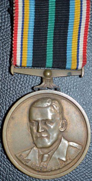 Аверс и реверс медали «Сфинкс».