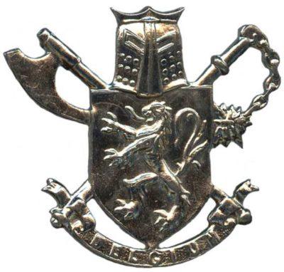 Знак 3-го парашютно-десантного батальона коммандос.
