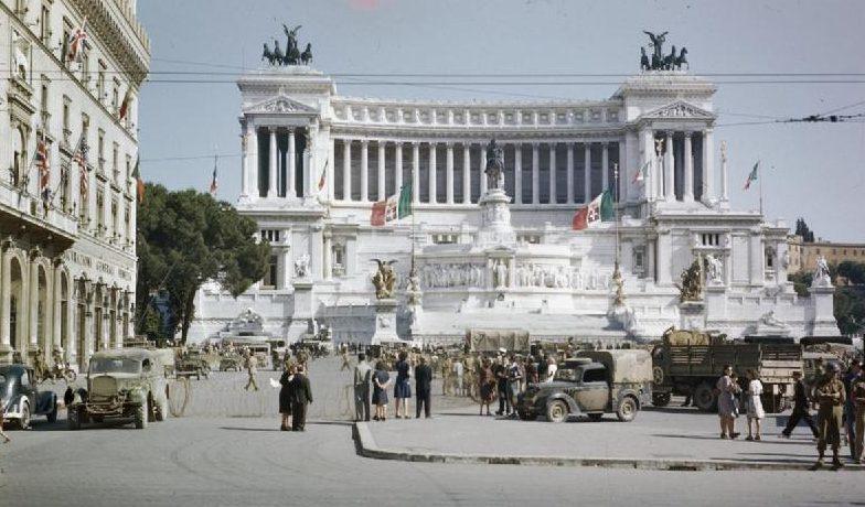 Союзные войска в Риме. Июль 1944 г.
