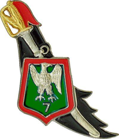 Знак 7-го егерского полка.