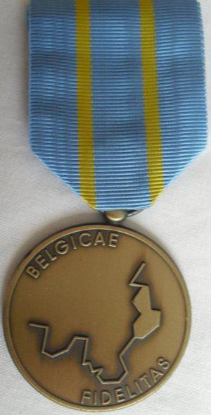 Медаль «За сопротивления на аннексированных территориях»для лиц, дезертировавших с немецкой службы.