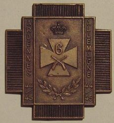 Знак 6-го стрелкового батальона.