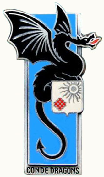 Знак 2-го драгунского полка.