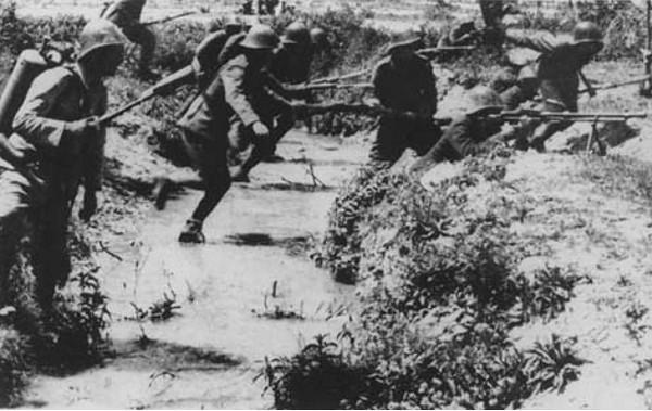 Штурм 35-й батареи. Июль 1942 г.