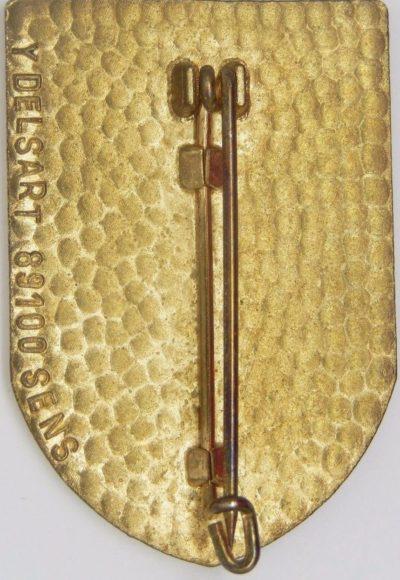 Аверс и реверс знака 6-го драгунского полка.