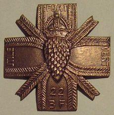 Знак 22-го стрелкового батальона.