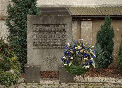 г. Бамберг. Памятник в честь еврейских жителей, погибших в Холокосте.