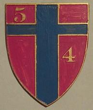 Знак 54-го стрелкового батальона.